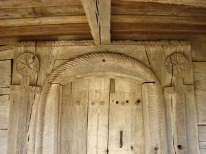 Biserica din Calna interior