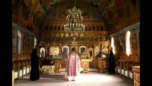 Manastirea Casiel interior